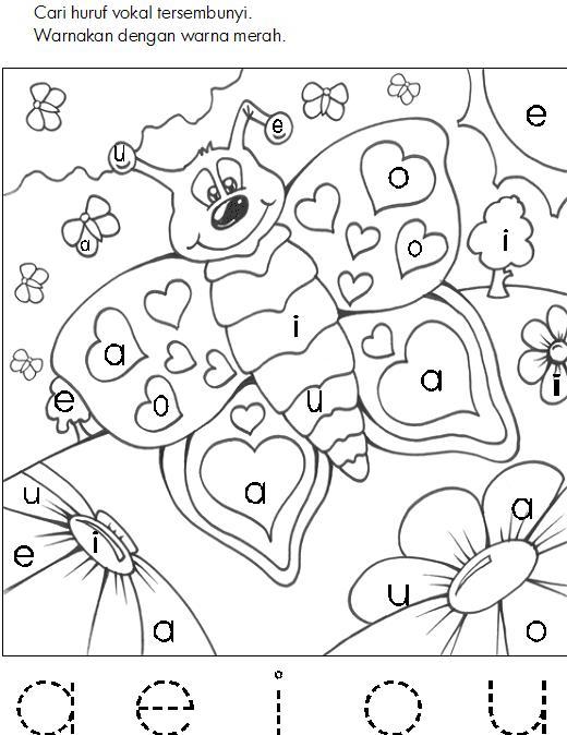 Buku Mewarnai Gambar  Laman 2  BAHAN SEKOLAH MINGGU