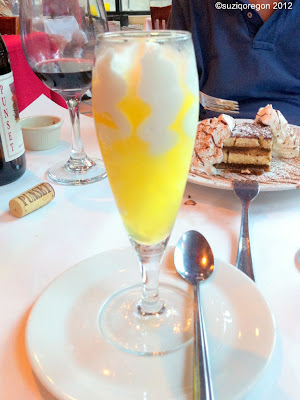 Lemon Gelato with Limoncello