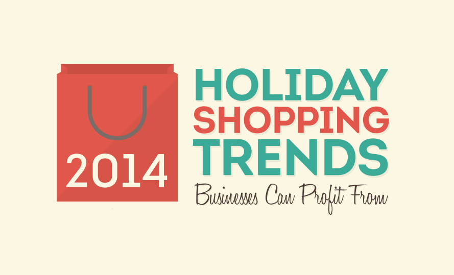 Holiday Shopping Trends On Social Media And Mobile - #infographic