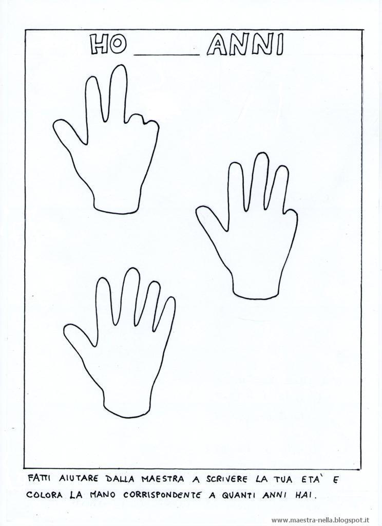 Favorito maestra Nella: schede accoglienza-inserimento ME65