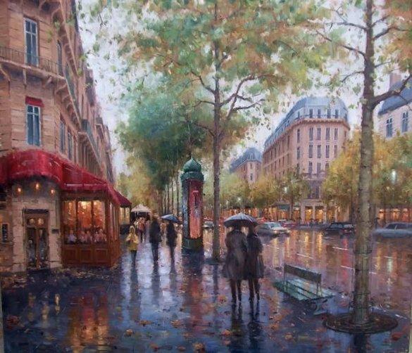 Des Beaux tableaux par Eugene J. Paprocki de Chicago, Illinois