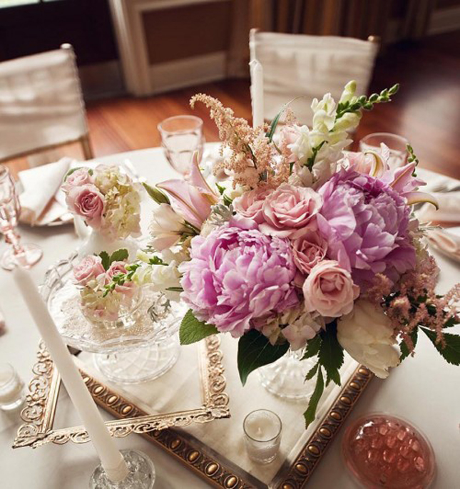 Perfect Pink Vintage Wedding Centerpiece 645 x 686 · 331 kB · jpeg