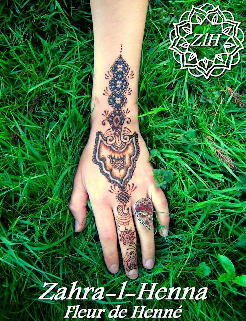 henné tatouage Nancy