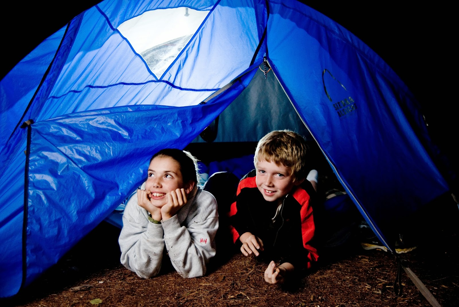 Family Backyard Camping :  Great American Backyard Campout Get Your Family Camping for a Night
