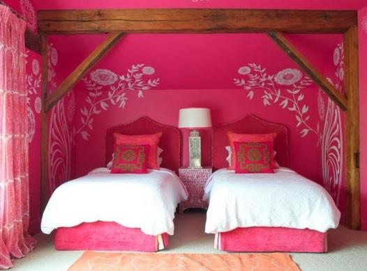 Decocasa fucsia para el dormitorio de las ni as 2015 for Cuartos de ninas modernos