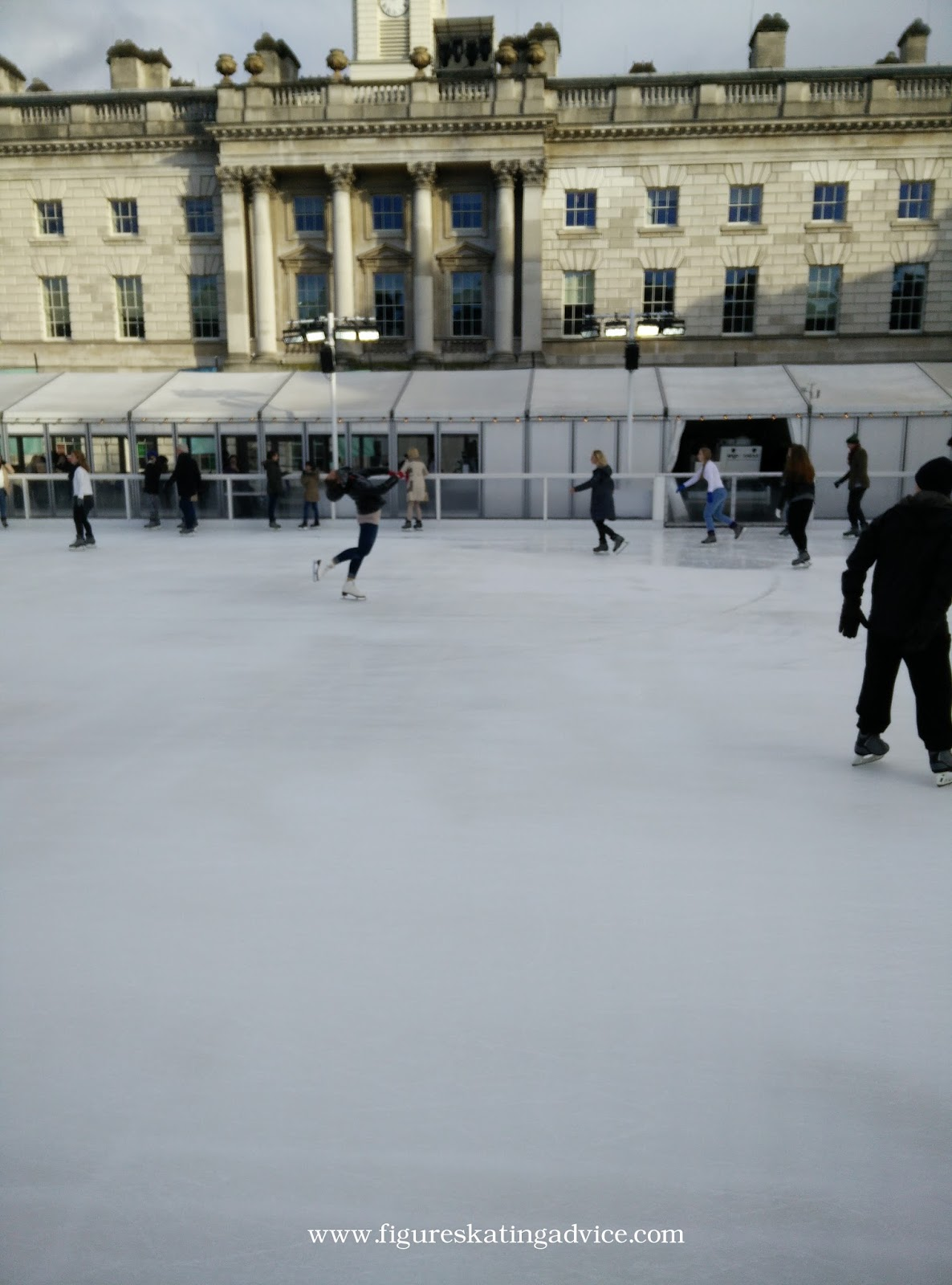 figure skating advice ice skating at somerset house ice rink