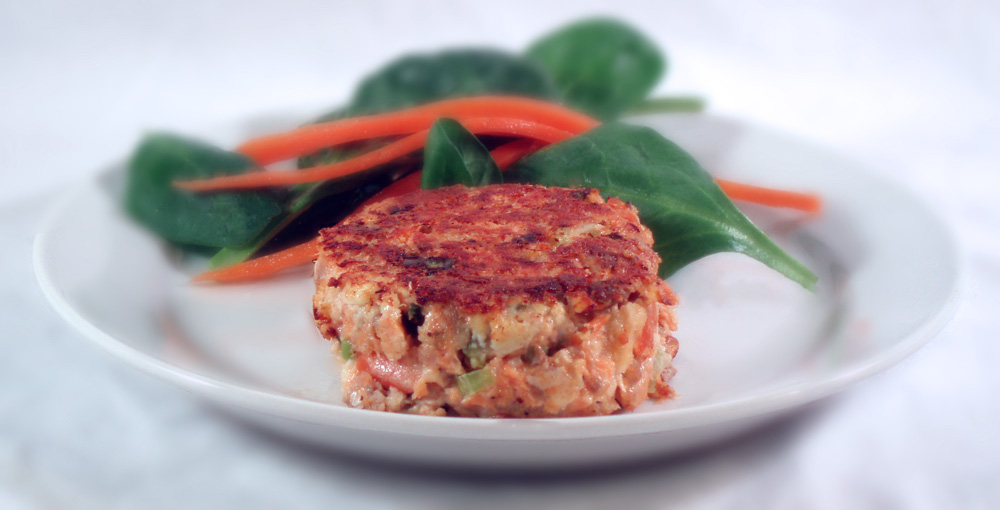 Delectable Musings: Salmon Cakes Asian Style: Leftovers Made New