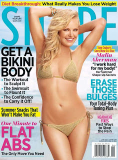 Malin Akerman Bikini, Malin Akerman Shape Magazine