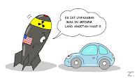 Atombombe sauber - VW schmutzig