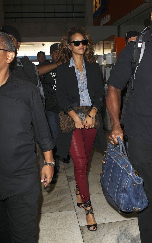 MILKY\u0026#39;S WAY: Rihanna Wears Designer Everything