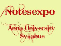 Anna University 6th semester syllabus for B.Tech IT Regulation 2008