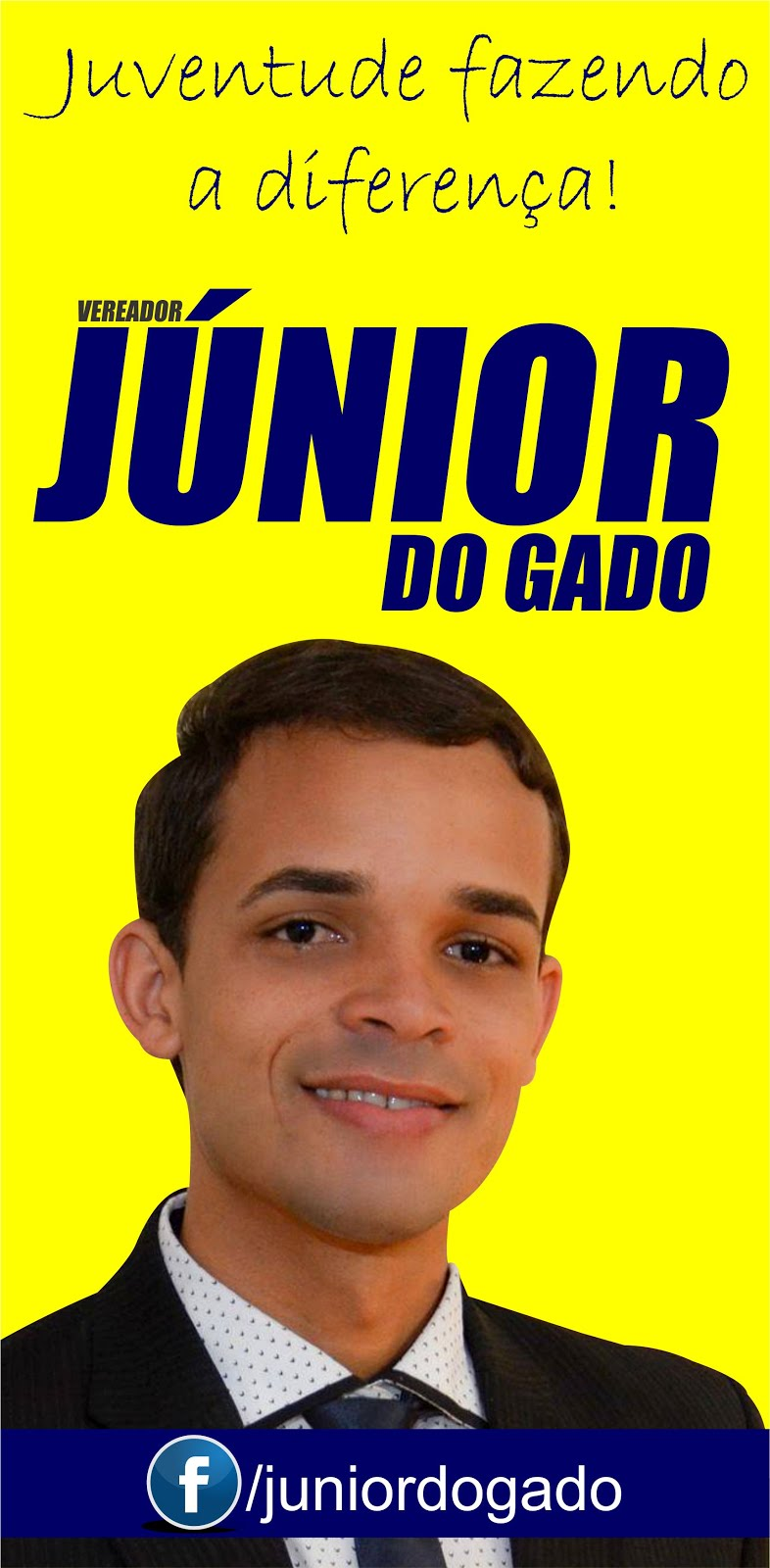 Vereador Júnior do Gado está no Facebook