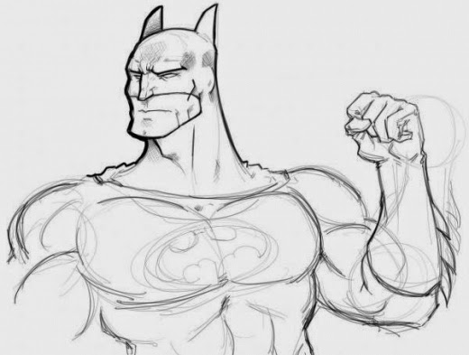 desenhos do batman para imprimir