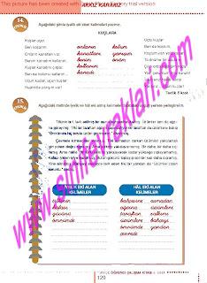 6.Sinif  Turkce Doku Yayinlari Ogrenci Calisma Kitabi Sayfa 129