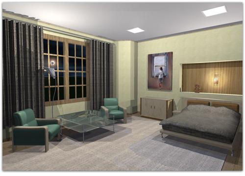 Arq limberg j villegas ch dise o de interiores for Programa decoracion 3d
