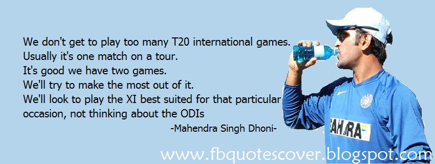 yuvraj singh and dhoni relationship quotes
