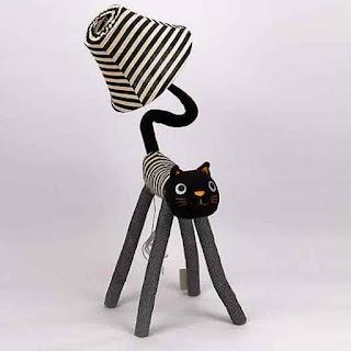 Desain Lampu Tidur Anak Lucu Bentuk Kucing