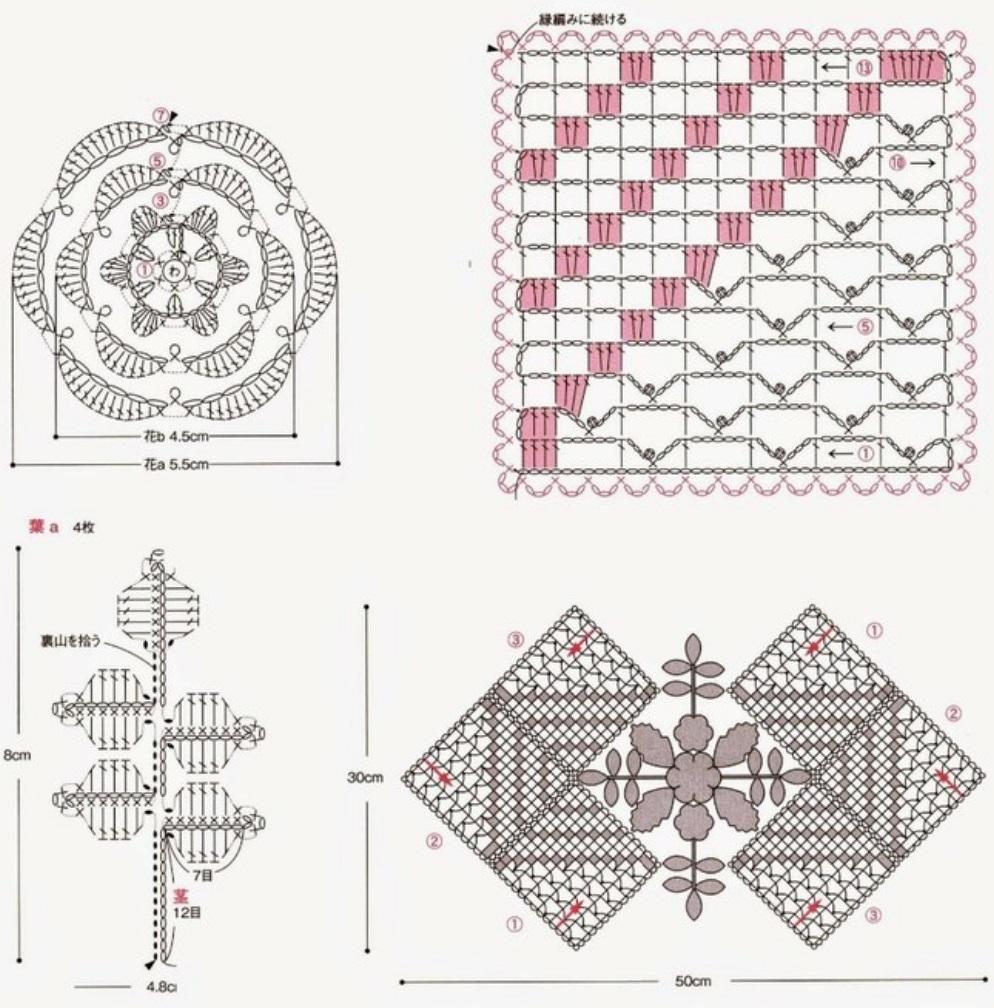 Вязаный эксклюзив. Описания и схемы вязания крючком и спицами » Страница 6 8