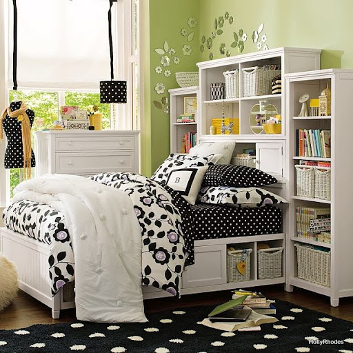 Bedroom diy ideas for girls bedroom furniture high for Teen bedroom storage