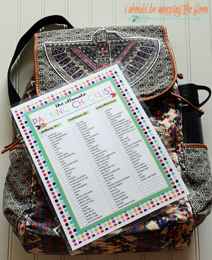 What I Pack Inside My Carry-On Bag   Free Printable Ultimate Packing Checklist