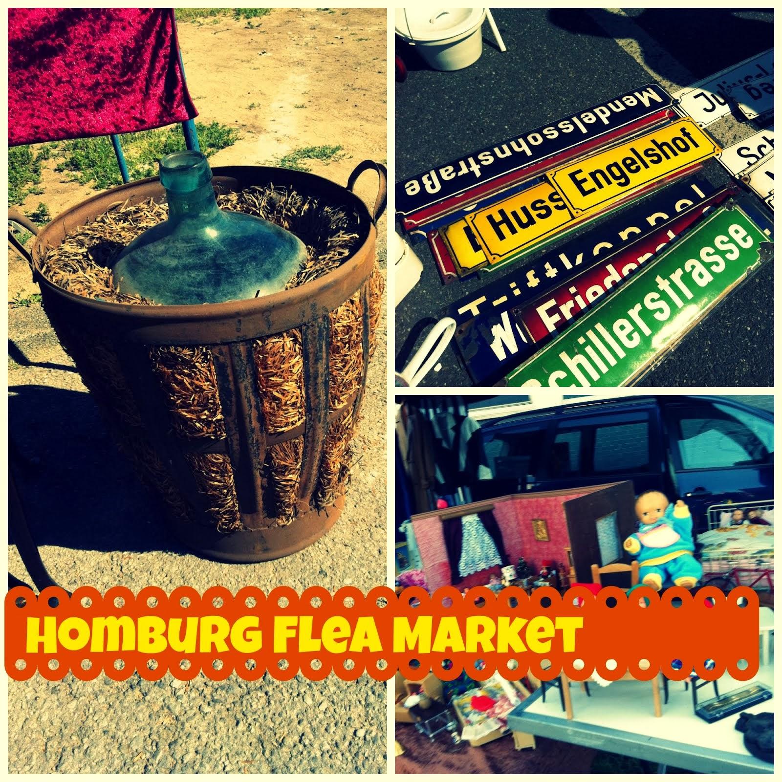 Homburg Flea Market 30 min drive