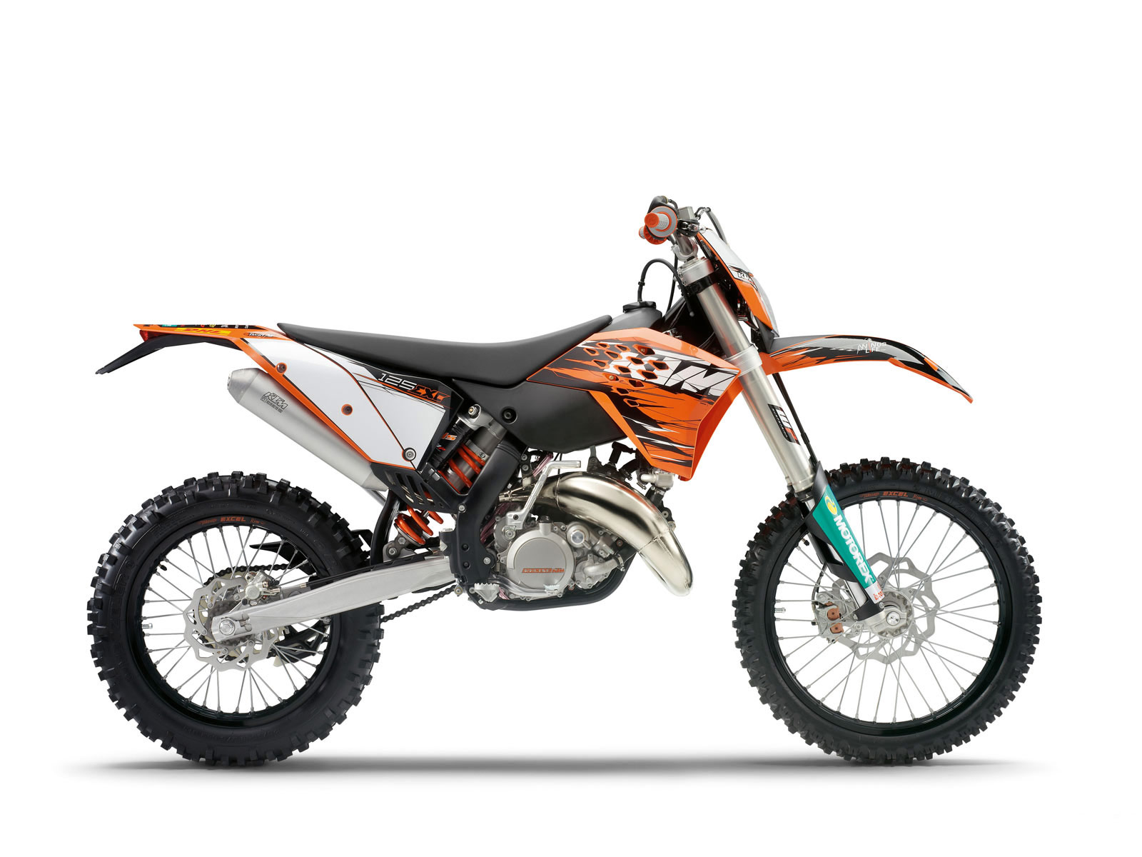 2010 ktm 125 exc motorcycle desktop wallpaper. Black Bedroom Furniture Sets. Home Design Ideas