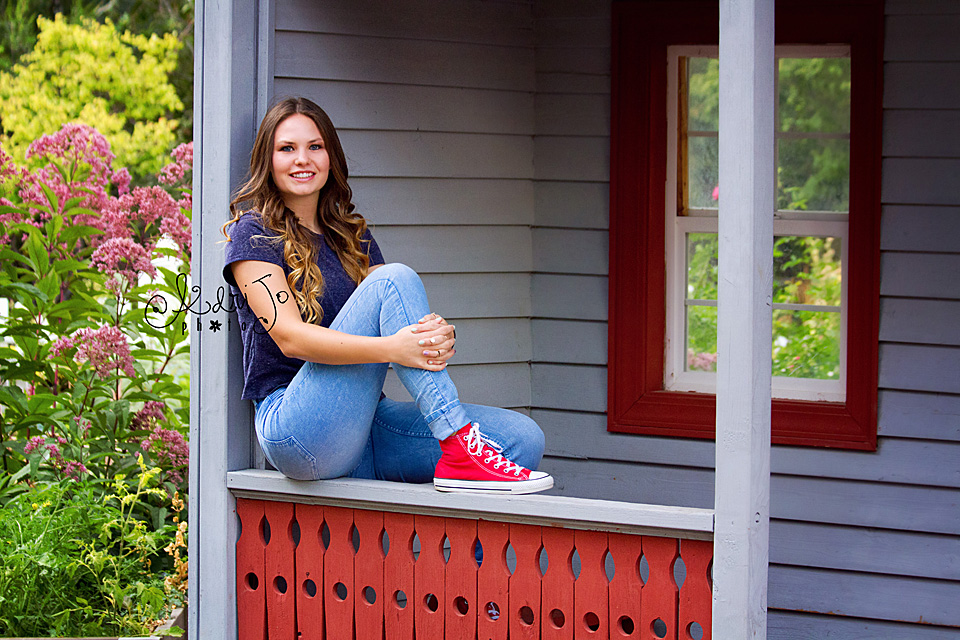 On Top of the World - Senior Session