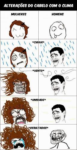 As diferenças entre os cabelos de uma mulher e de um homem