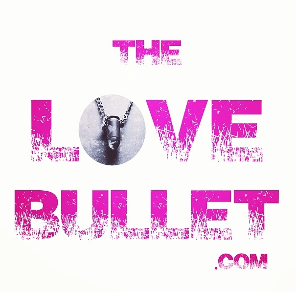 the LOVE bullet Necklace