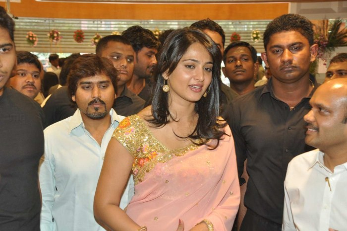 Anushka Shetty Stills in saree
