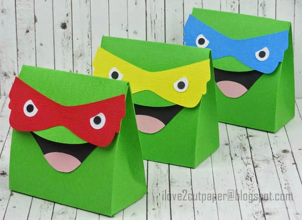 Ninja Turtles Favor bags