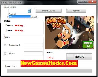Hack] Angry Gran Toss Cheats Hack Tool For iOs/Android/iPhone Without