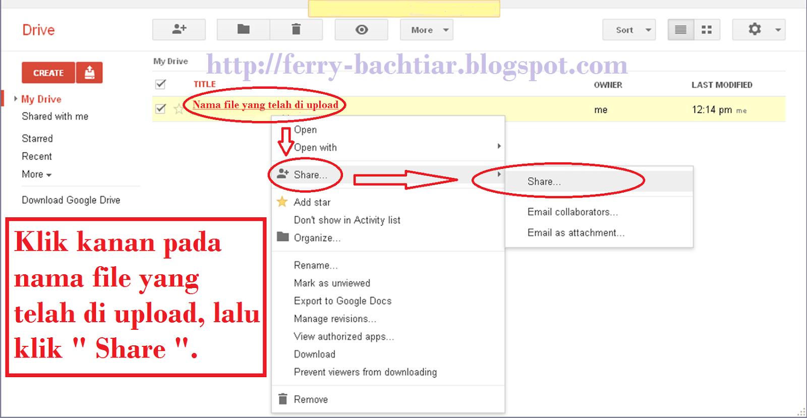 Cara membuat link download pada google drive-5