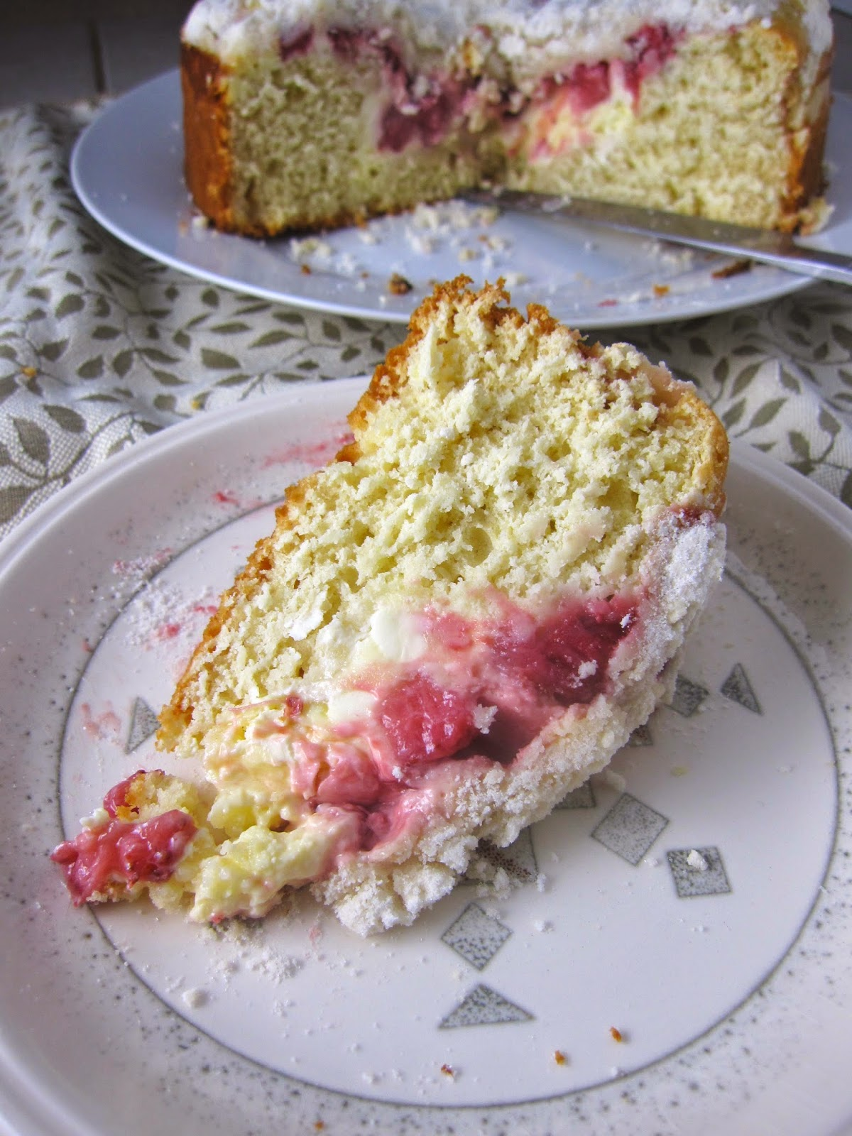 Strawberry Cream Cheese Coffee Cake