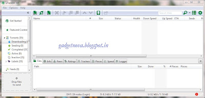 utorrent, torrent window, download games, utorrent downloading