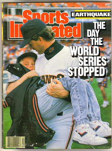 cover of sports illustrated from 1989 world series
