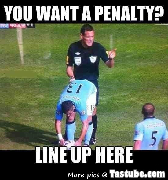 You want a penalty