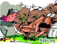 Truyện Xiển Bột đổi bò gầy lấy bò béo