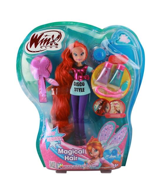 Naujos lėlės/žaislai/mokyklinės prakės Rugsėjis/Lapkritis Bloom-MagicalHairPKG