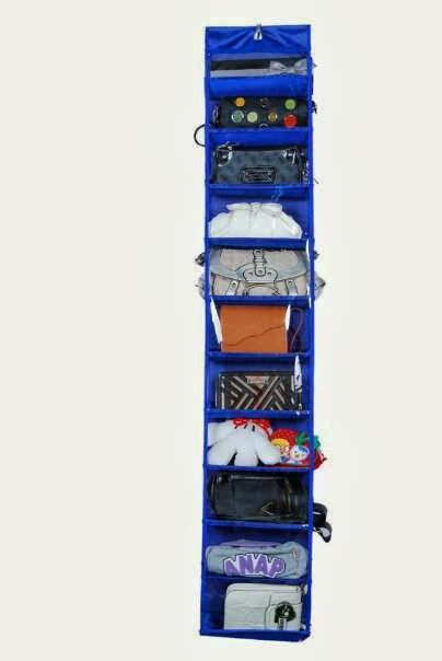hanging bag rak tas sepatu gantung