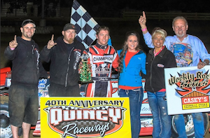 Bobby Dominates the Scottie 40 at Quincy Raceway 5-18-2014
