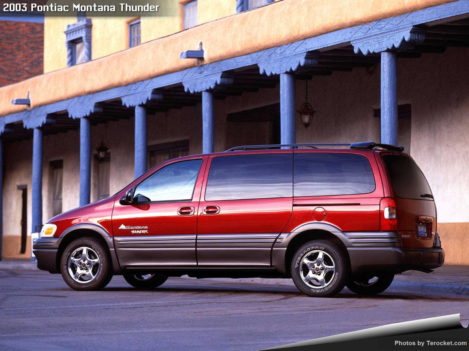 Hình ảnh xe ô tô Pontiac Montana Thunder 2003 & nội ngoại thất
