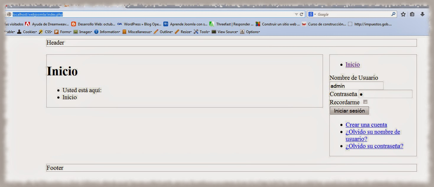 Taller para crear plantillas de Joomla desde cero: Cómo agregar ...