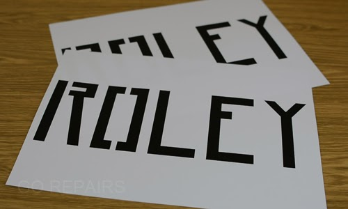 Print out your stencil onto A4 paper