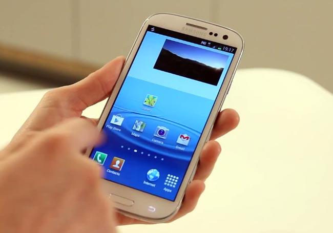 Samsung S3, Samsung vs. Google