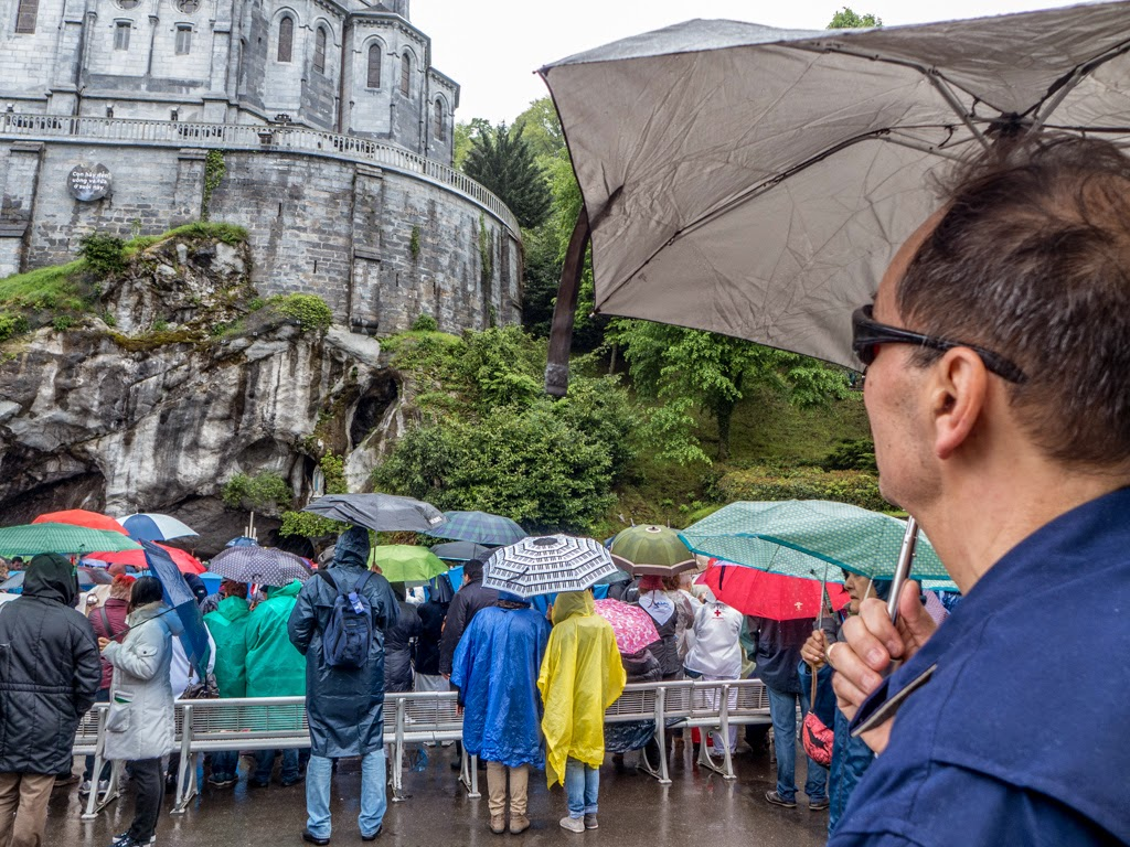Lourdes France Grotto Saint Bernadette