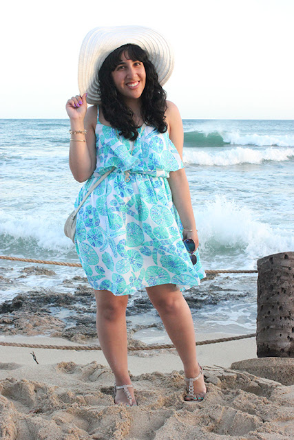 Lilly for Target Dress Hawaii Luau Outfit
