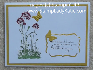 Card made with Stampin'UP! set called Serene Silhouettes, by StampLadyKatie