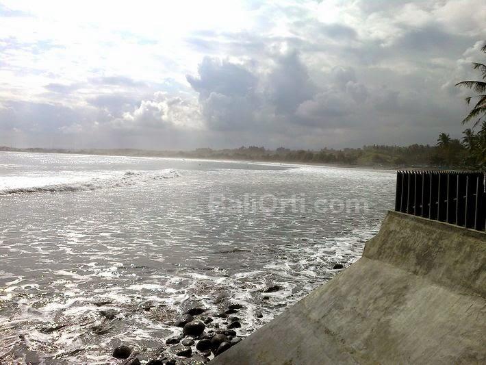 Medewi Beach and sea in Pekutatan Jembrana Bali