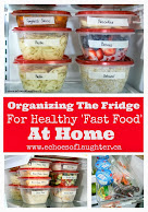 Organizing The Fridge For Healthy Fast Food at Home